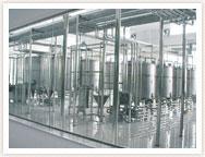 خط إنتاج الحليب و اللبن المبستر